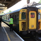Slam Door Units on the Lymington Branch